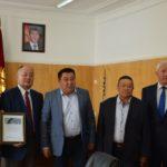 Нарын. Встреча с губернатором Нарынской области А. Кайыповым, сентябрь 2017г.