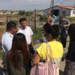 Программа ОРОП. Посещение ОсОО Кыргыз корм, август 2017г.