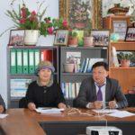 Встреча М. Абакирова со студентами в Ресурсном центре Нарынского государственного университета, сентябрь 2017г.