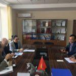 Встреча руководства ОАО ГФ с представителями JICA, октябрь 2017г.