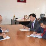 Встреча с управляющим филиала КБ Кыргызстан в Нарынской области, сентябрь 2017г.