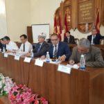Азамат Кожобаев на встрече с бизнесом в Оше, октябрь 2018