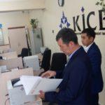 К. Аалиев на встрече с банкирами