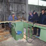 На презентации производства деревянных ящиков в Кара-Жыгаче, февраль 2019